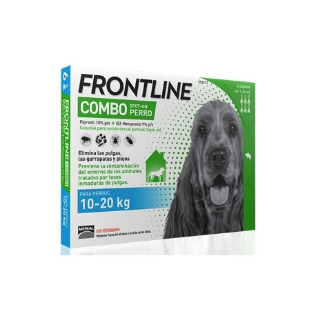 FRONTLINE COMBO DE 10 A 20 KG