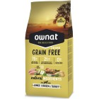 OWNAT DOG GRAIN FREE PRIME JUNIOR POLLO PAVO