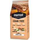 OWNAT DOG GRAIN FREE PRIME JUNIOR LAMB