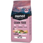 OWNAT DOG GRAIN FREE PRIME MINI LAMB