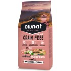 OWNAT DOG GRAIN FREE PRIME MINI POLLO PAVO