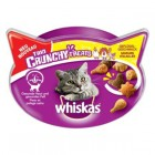 WHISKAS SNACKS TRIO CRUNCHY AVES 60gr